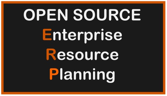 open source erp definition