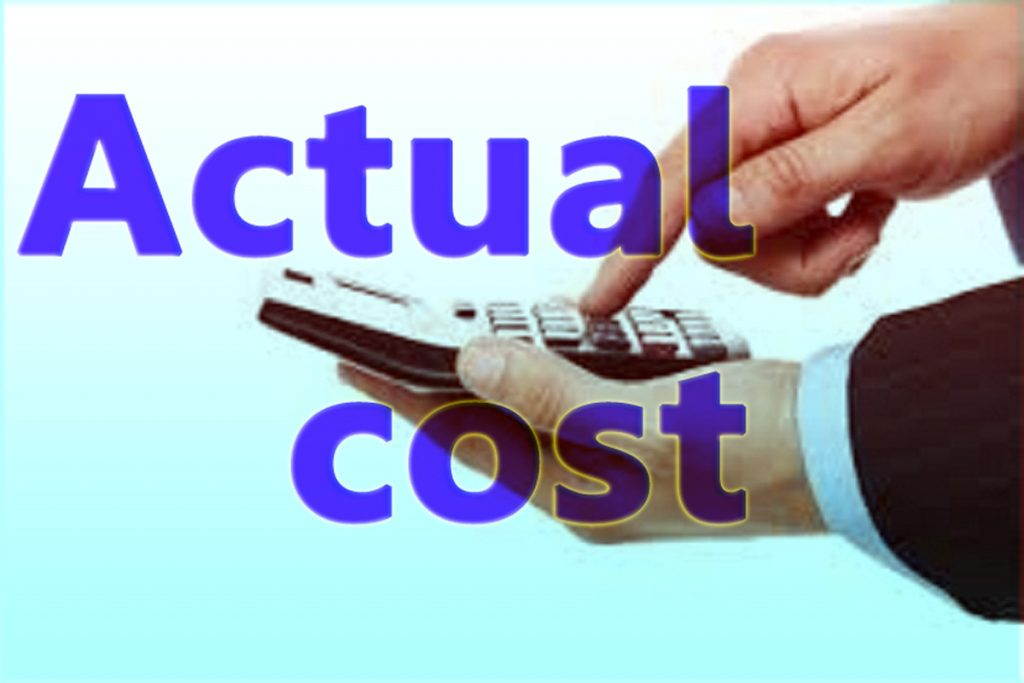 Actual Cost