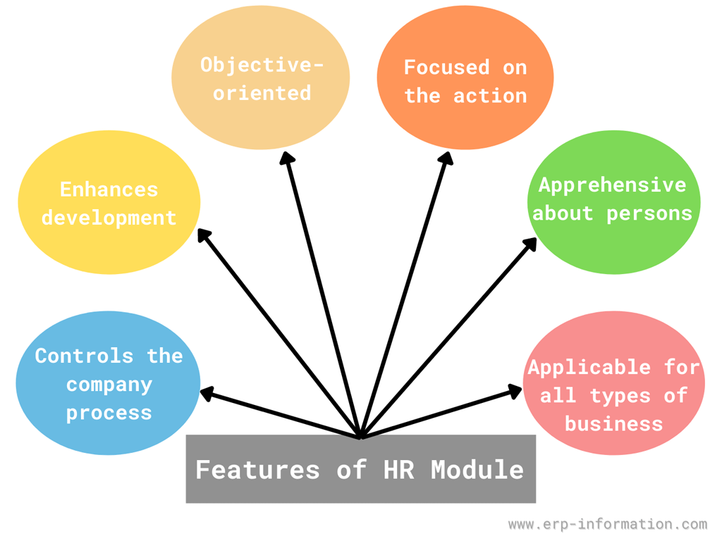 Features of ERP HR module