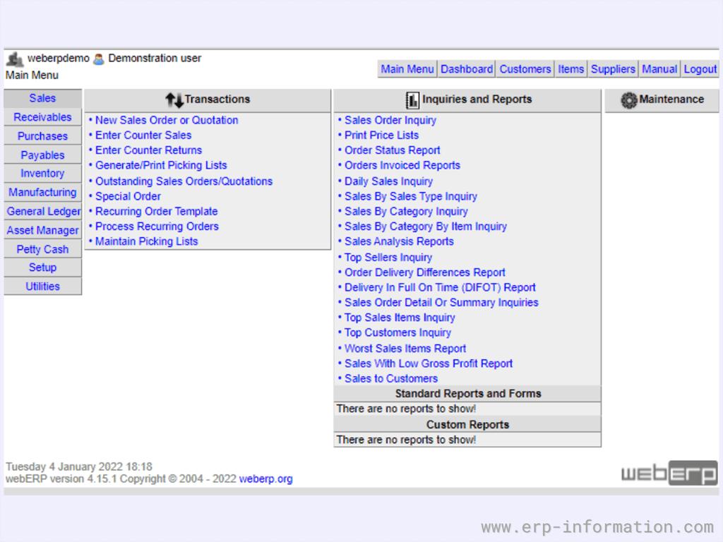 webERP Software